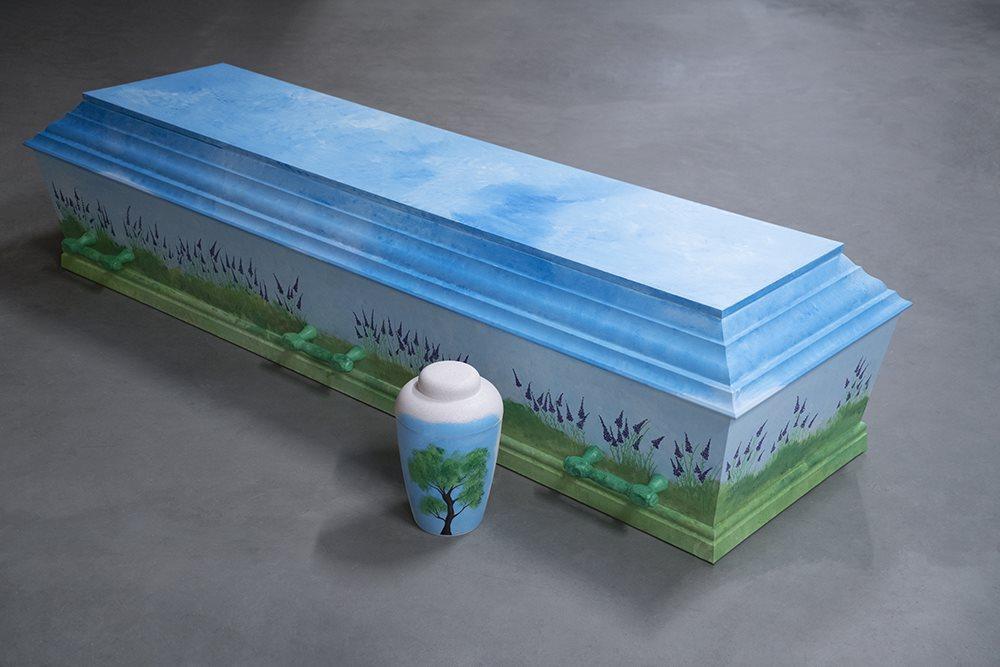 fuglebjergkistefabrik Håndmalede-kister006 soeby begravelse