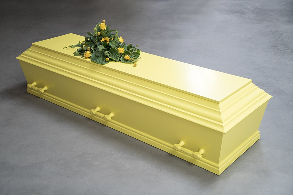 fuglebjergkistefabrik Lys gul flex med 6 greb
