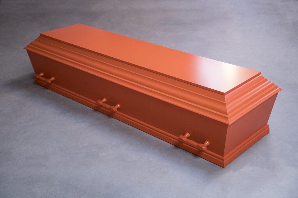 fuglebjergkistefabrik Orange flex kiste med 6 greb